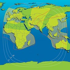 Intelsat 902 C-band Hemisphere and Global Overview